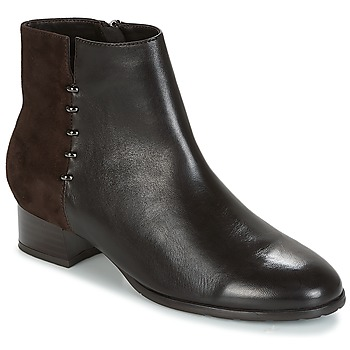 Shoes Women Mid boots André CARLA Brown