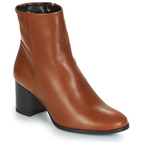 Shoes Women Ankle boots André DARA Camel