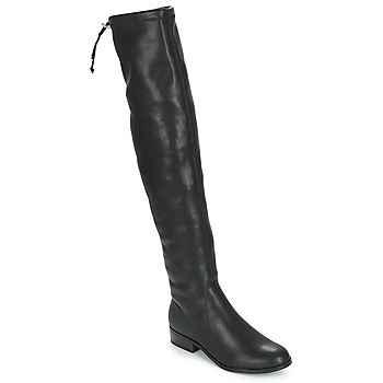 Shoes Women Thigh boots André MARGOT Black