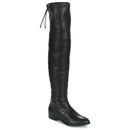 Shoes Women Thigh boots André DANDY Black