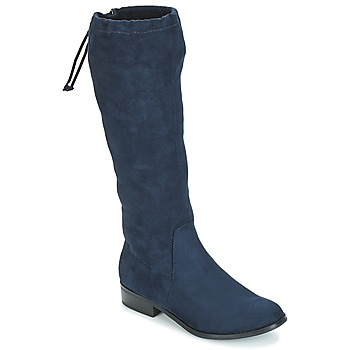 Shoes Women High boots André ANAIS Marine