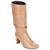 Shoes Women High boots André SARA Beige
