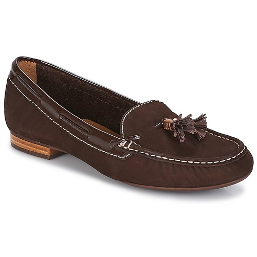 Shoes Women Loafers André DANY Brown