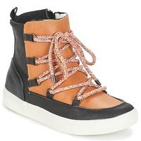 Shoes Women Mid boots André SNOW Camel
