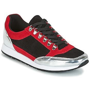Shoes Women Low top trainers André SKA Red