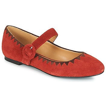 Shoes Women Flat shoes André ALBOROZA Red