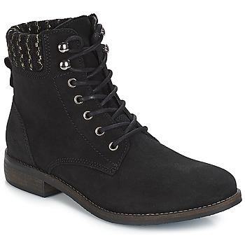 Shoes Women Mid boots André CARMINA Black