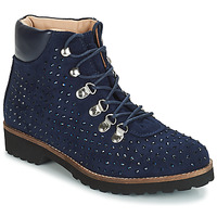 Shoes Women Mid boots André CALCEDOINE Blue