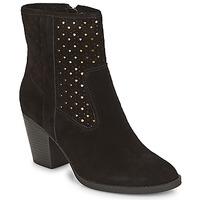 Shoes Women Ankle boots André DELIA Black