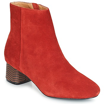 Shoes Women Ankle boots André EUFORIA Red