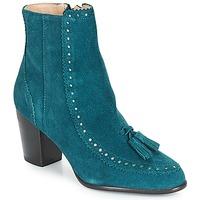 Shoes Women Ankle boots André DORIANE Blue