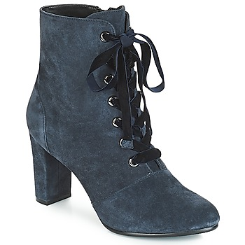 Shoes Women Ankle boots André JUSTINE Blue