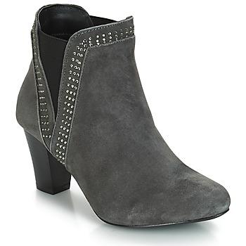 Shoes Women Ankle boots André BRITANIE Grey