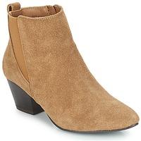 Shoes Women Ankle boots André CALIMITY Beige