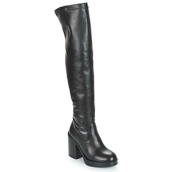 Shoes Women Thigh boots André JESSY Black
