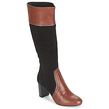 Shoes Women High boots André DOLORES Brown