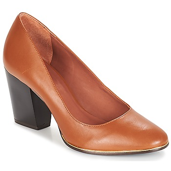Shoes Women Heels André RIZZO Camel