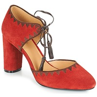Shoes Women Heels André ALLEGRA Red