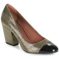Shoes Women Heels André FAUVE Kaki