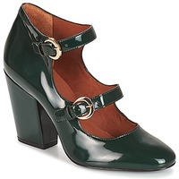 Shoes Women Heels André ANTONELLA Green