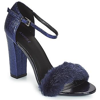 Shoes Women Sandals André WANDA Marine