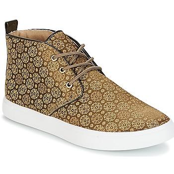 Shoes Women Hi top trainers André EMPEREUR Kaki
