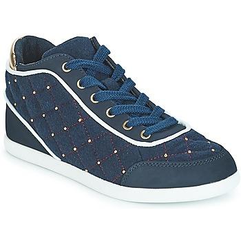 Shoes Women Hi top trainers André KINGDOM Blue