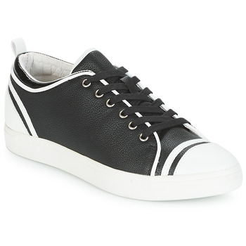 Shoes Women Low top trainers André LEANE Black / White