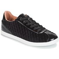 Shoes Women Low top trainers André VELVET Black