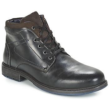 Shoes Men Mid boots André PRAO Black