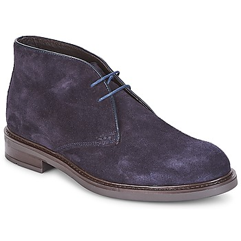 Shoes Men Mid boots André BOHEME Marine