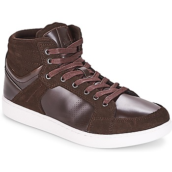 Shoes Men Hi top trainers André URBAIN Brown