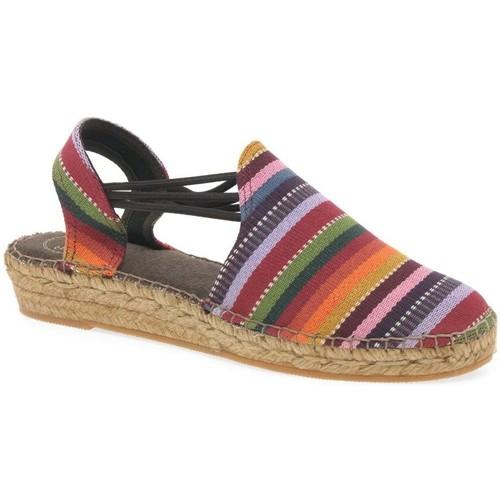 Shoes Women Espadrilles Toni Pons Norma Womens Striped Espadrilles Multicolour