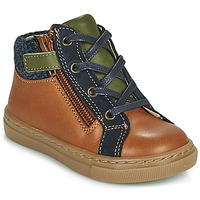 Shoes Boy Mid boots André CORBEAU Brown