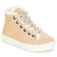 Shoes Girl Hi top trainers André TRICOT Beige