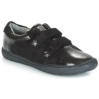 Shoes Girl Low top trainers André HALEY Black