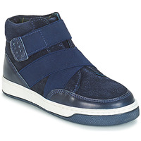 Shoes Boy Mid boots André CUBE Marine
