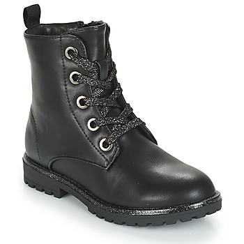 Shoes Girl Mid boots André CLAPTON Black