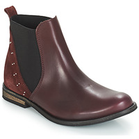 Shoes Girl Mid boots André MUSCADE Bordeaux