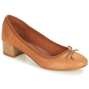 Shoes Women Flat shoes André POETESSE Brown
