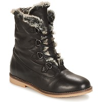 Shoes Women Mid boots André CHAMONIX Black