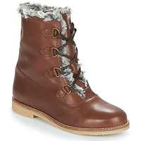Shoes Women Mid boots André CHAMONIX Brown