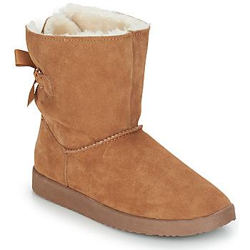 Shoes Women Mid boots André TOUDOU Beige