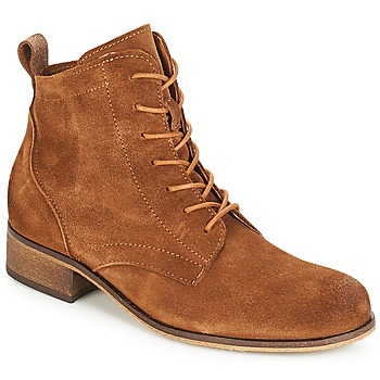 Shoes Women Mid boots André GODILLOT Brown
