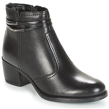Shoes Women Mid boots André CALOTINE Black