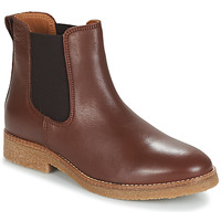 Shoes Women Mid boots André THELA Brown