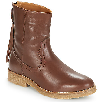 Shoes Women Mid boots André THEO Brown