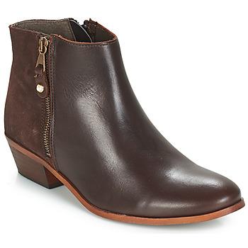 Shoes Women Mid boots André THAIS Brown