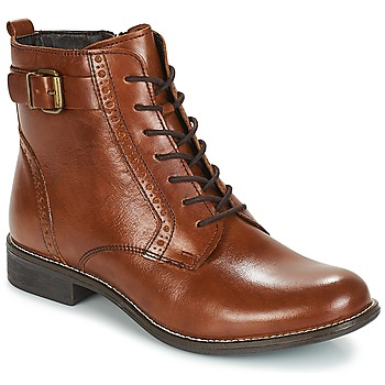 Shoes Women Ankle boots André CHEPTELA Brown