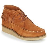 Shoes Women Mid boots André TANVI Brown